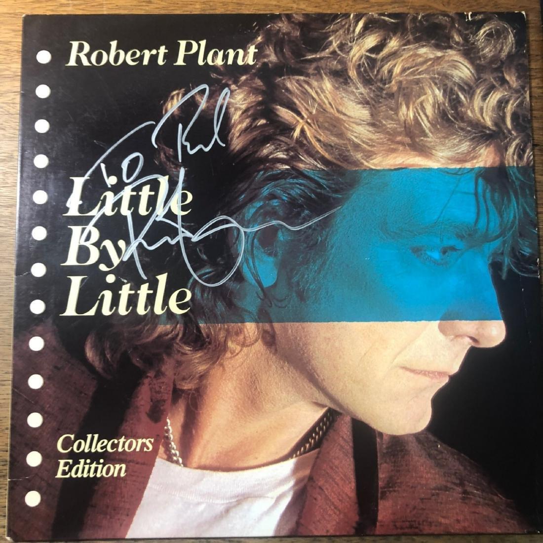 Signed Robert Plant Little By Little Album