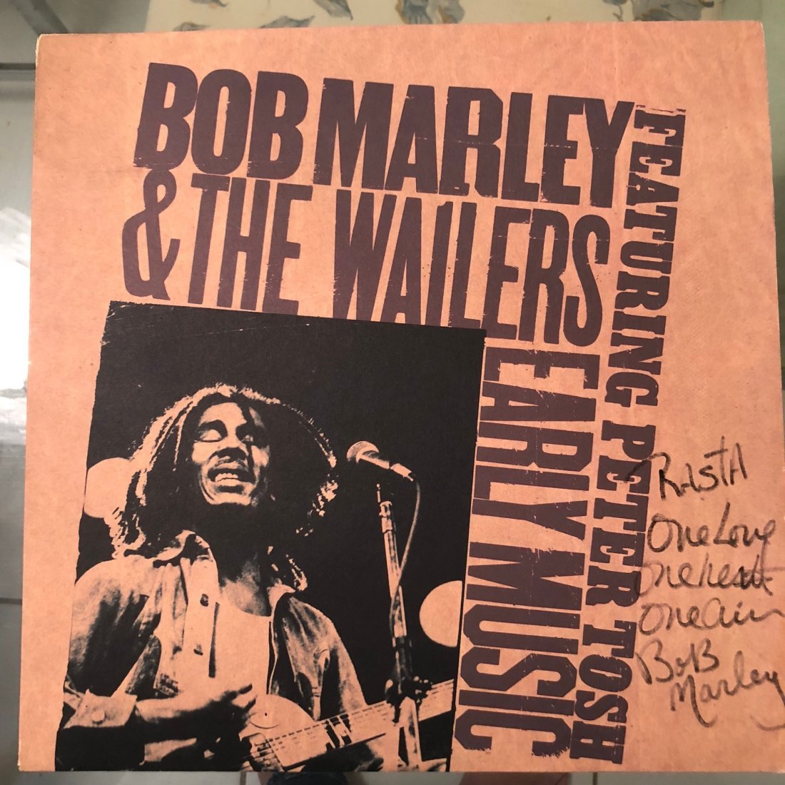 Signed Bob Marley Early Muisc Album