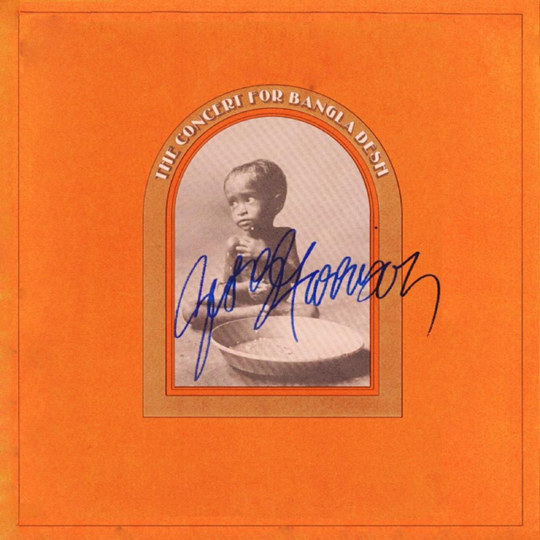 Signed George Harrison Concert For Bangladesh Album