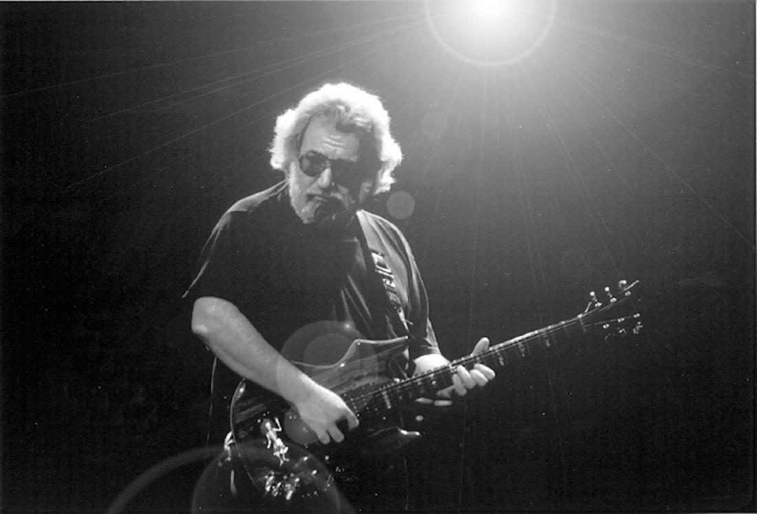 Jerry Garcia B/W