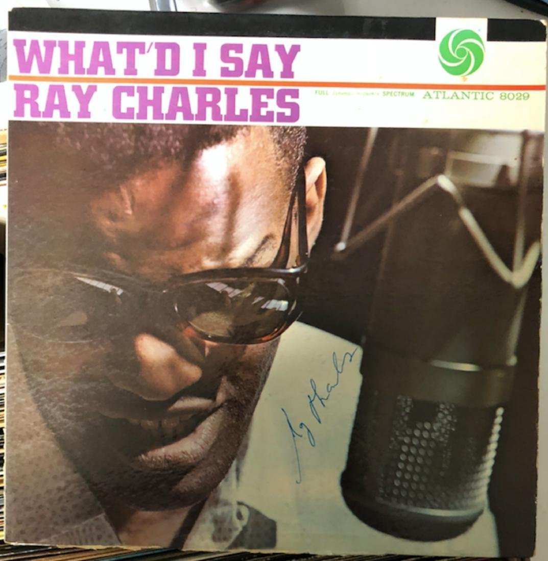 Signed Ray Charles What Did I Say