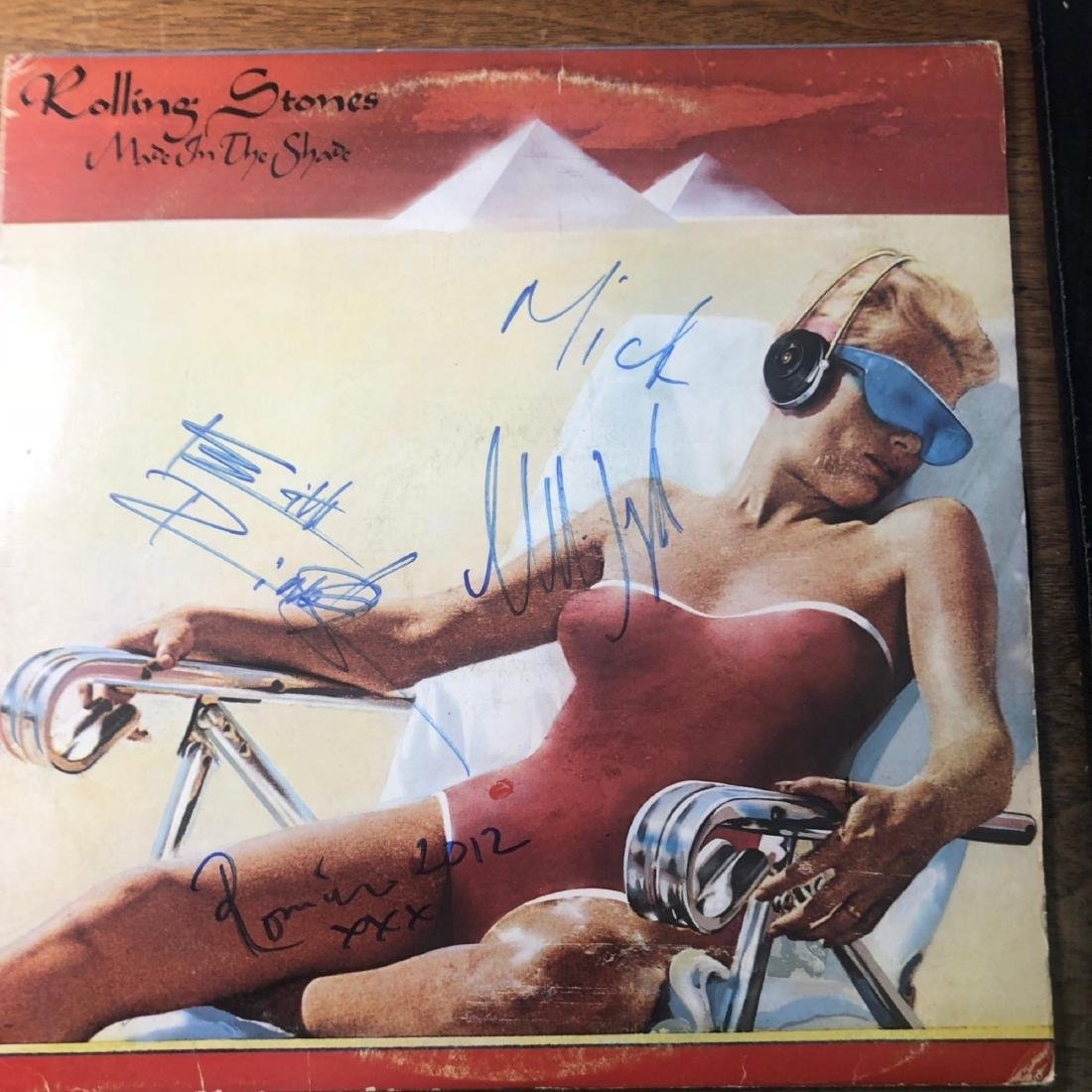 Signed Rolling Stones Made In The Shade Album