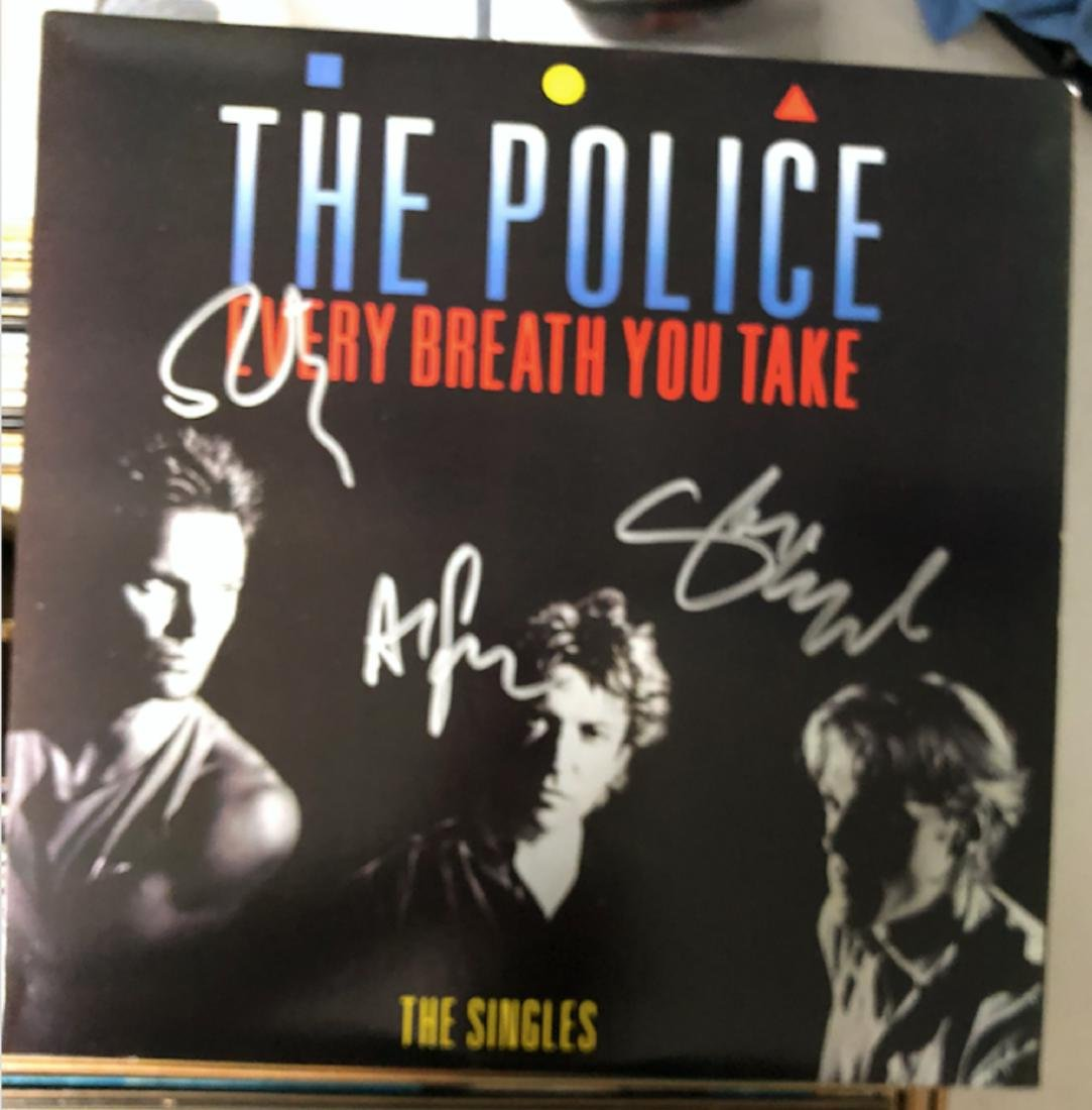 Signed Police Every Breath You Take SAlbum