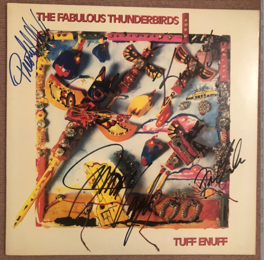 Signed Fabulous Thunderbirds Tuff Enough
