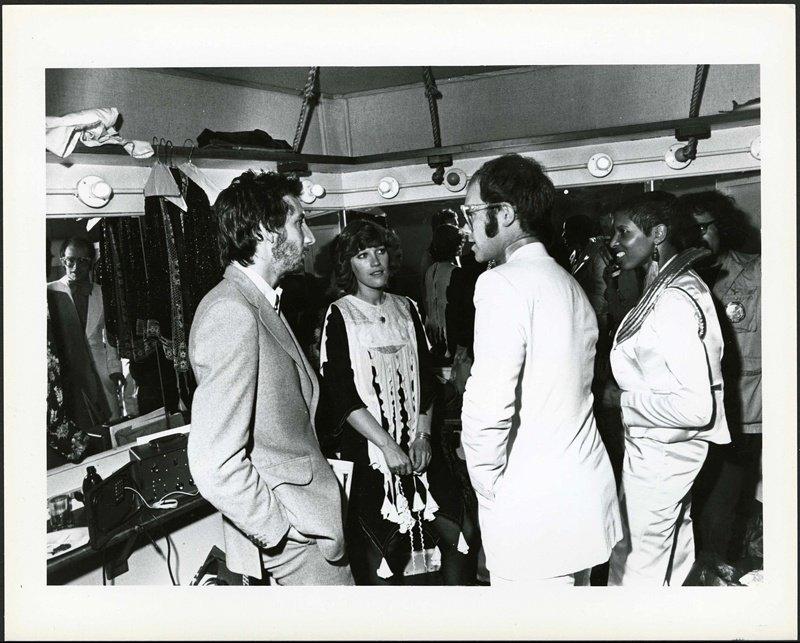 Pete Townshend. Elton John & More 1974
