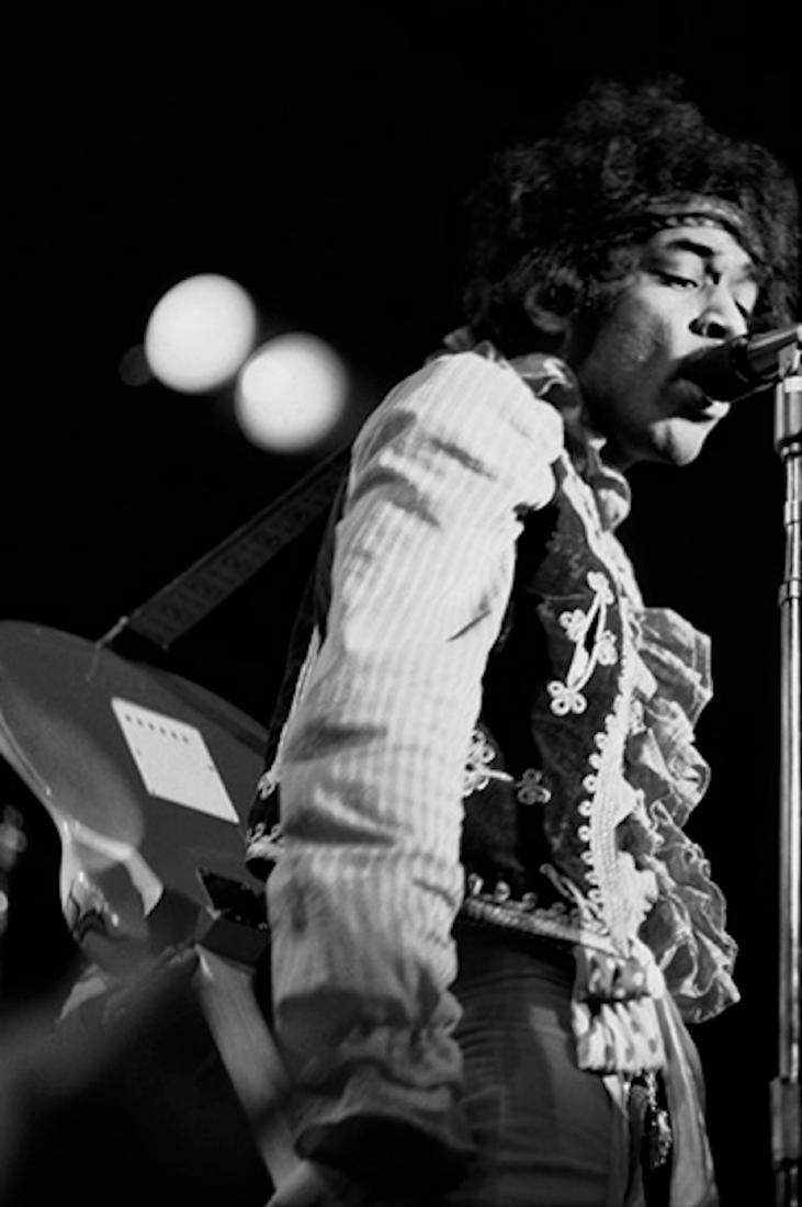 Jimi Hendrix Singing  1967