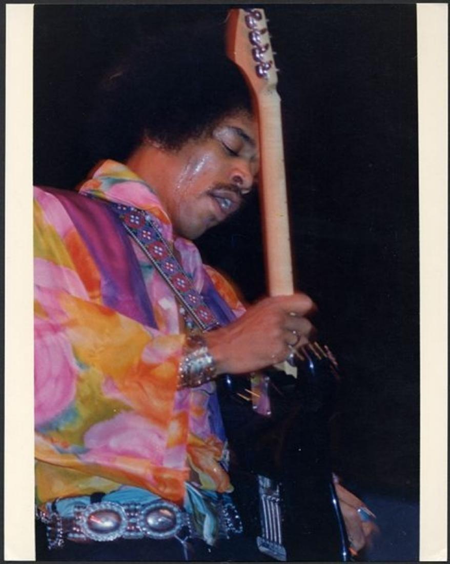 Jimi Hendrix, NYC Circa 1968