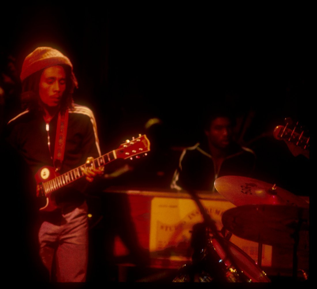 Bob Marley 1st US Show