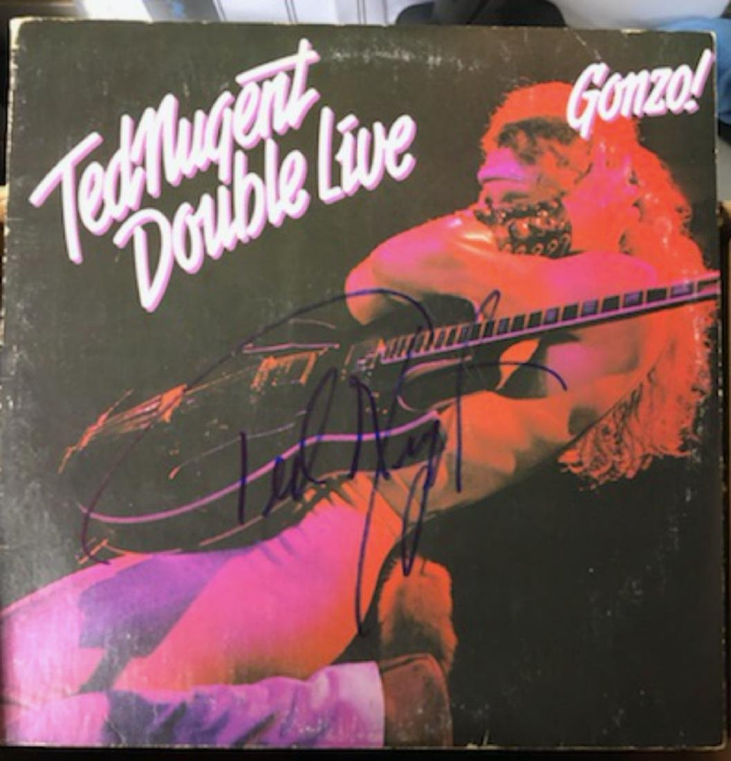 Signed Ted Nigent Double Live