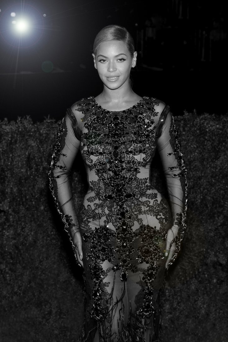BEYONCE at Metropolitan Museum of Arts Costume Gala,