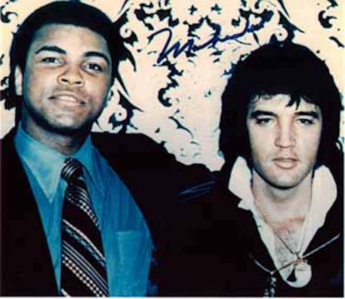 Muhammad Ali & Elvis 1973