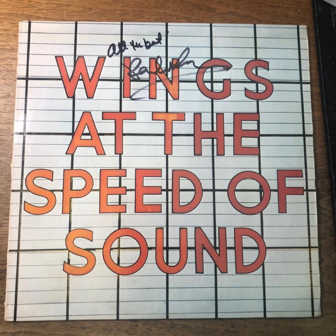 Signed Wings Over America Album