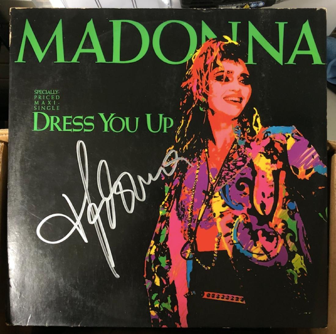 Signed Madonna Dress You Up