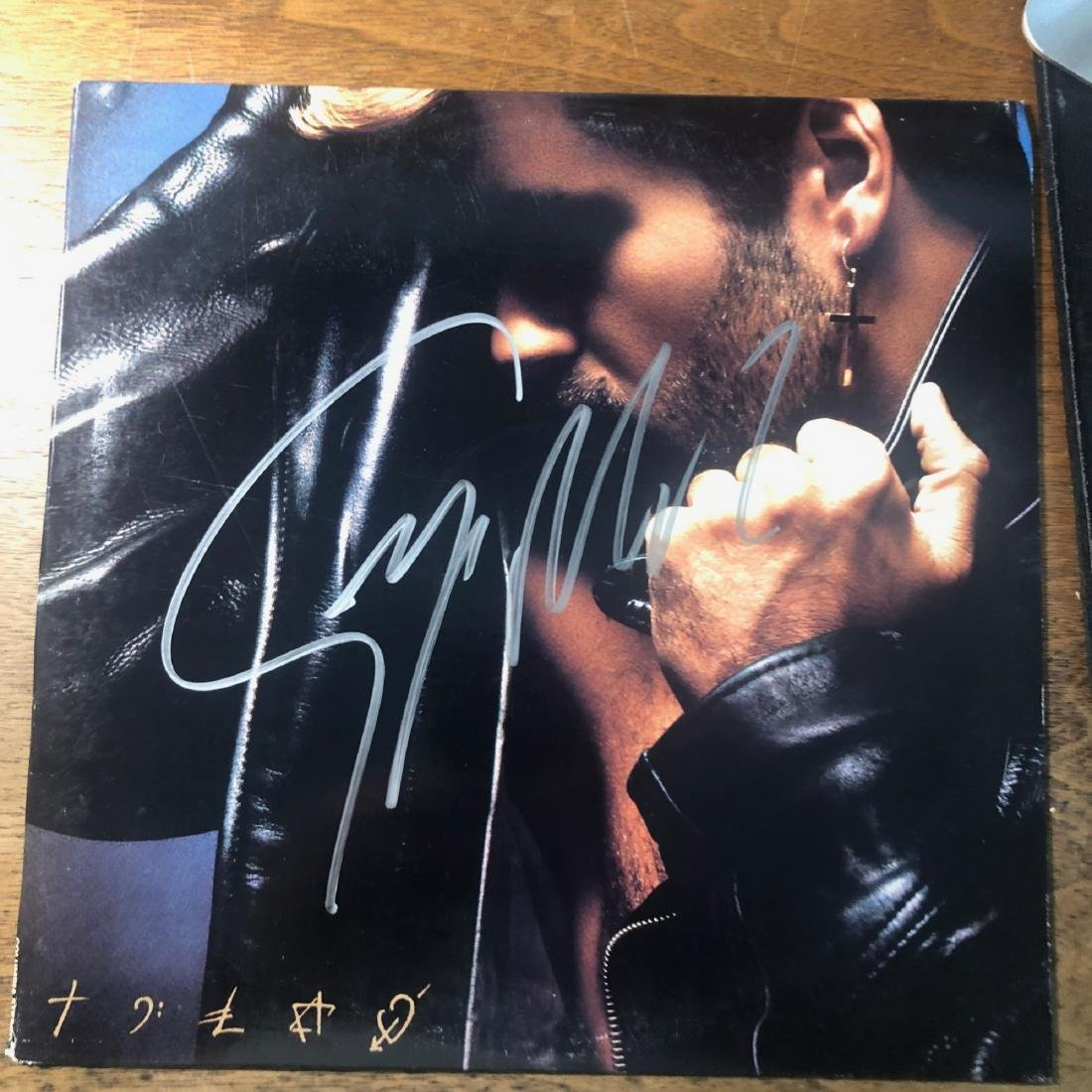 Signed George Michael Album