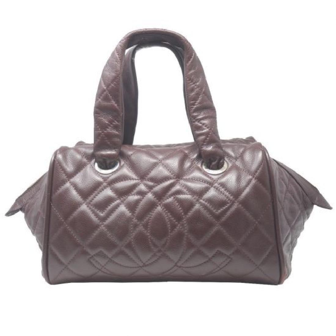 Vintage Chanel Bowler Shoulder Bag