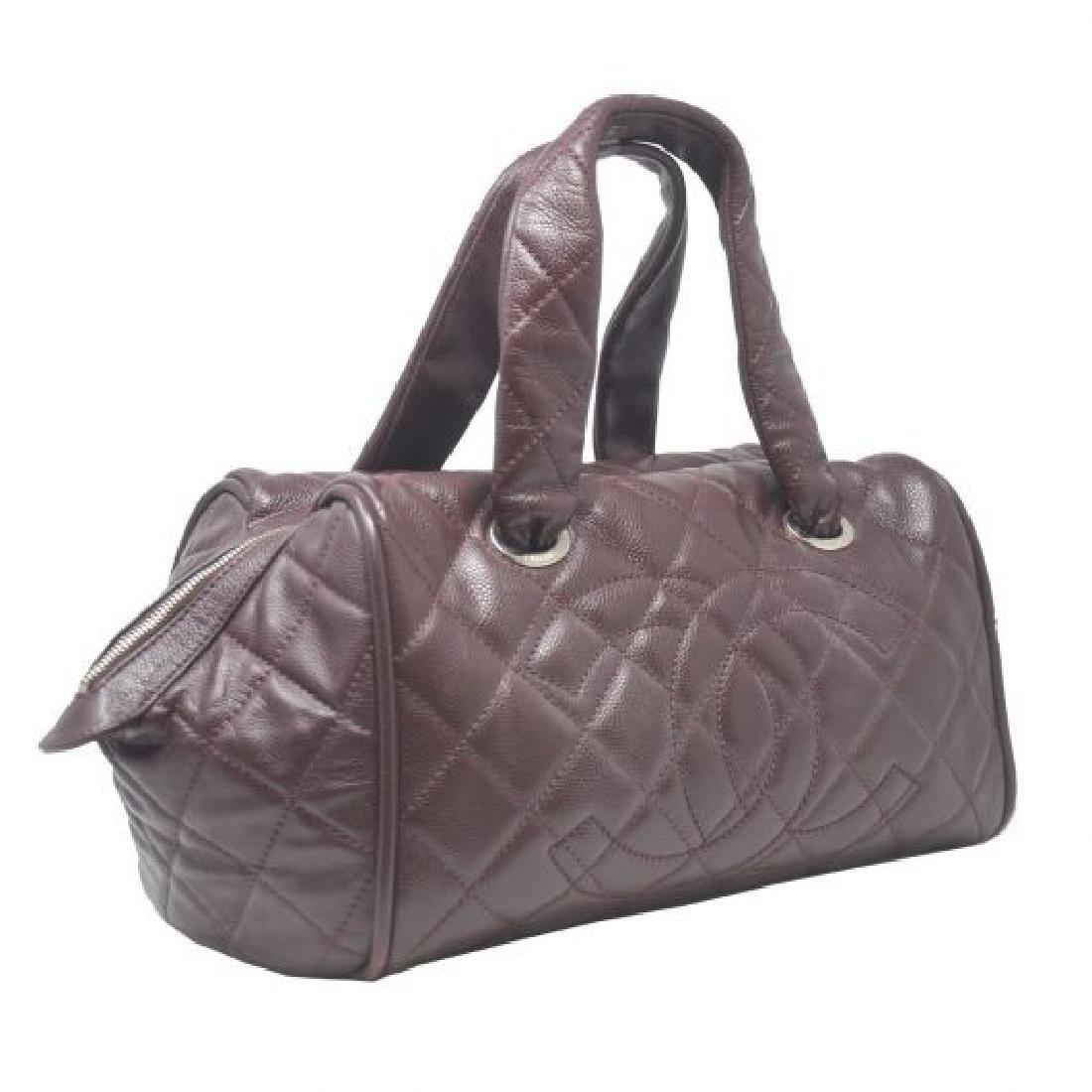 Vintage Chanel Bowler Shoulder Bag - 2