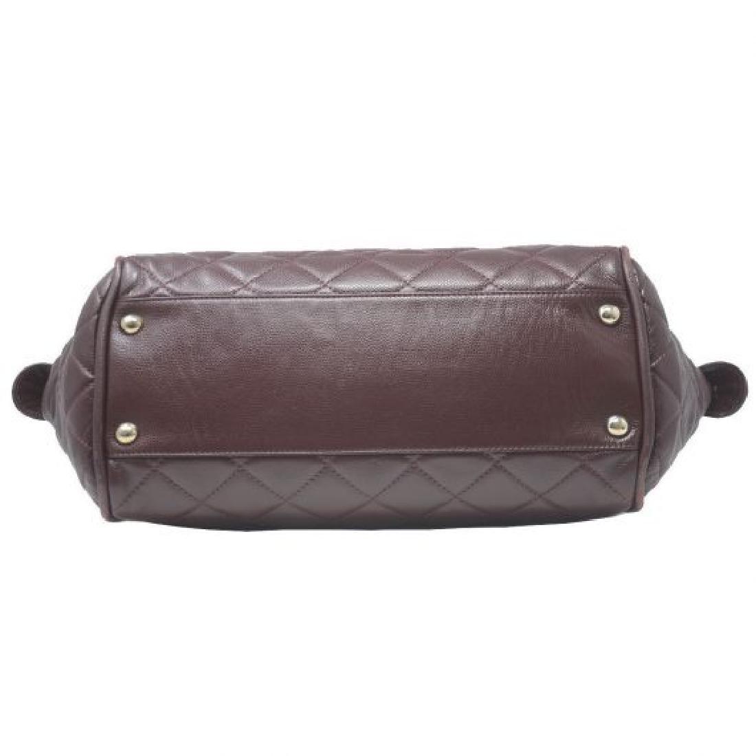 Vintage Chanel Bowler Shoulder Bag - 7