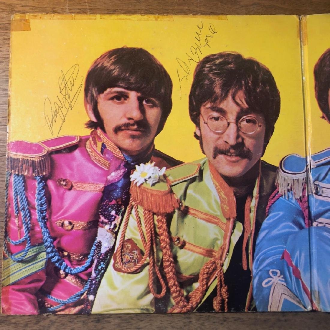 Signed Beatles Sgt Pepper Album