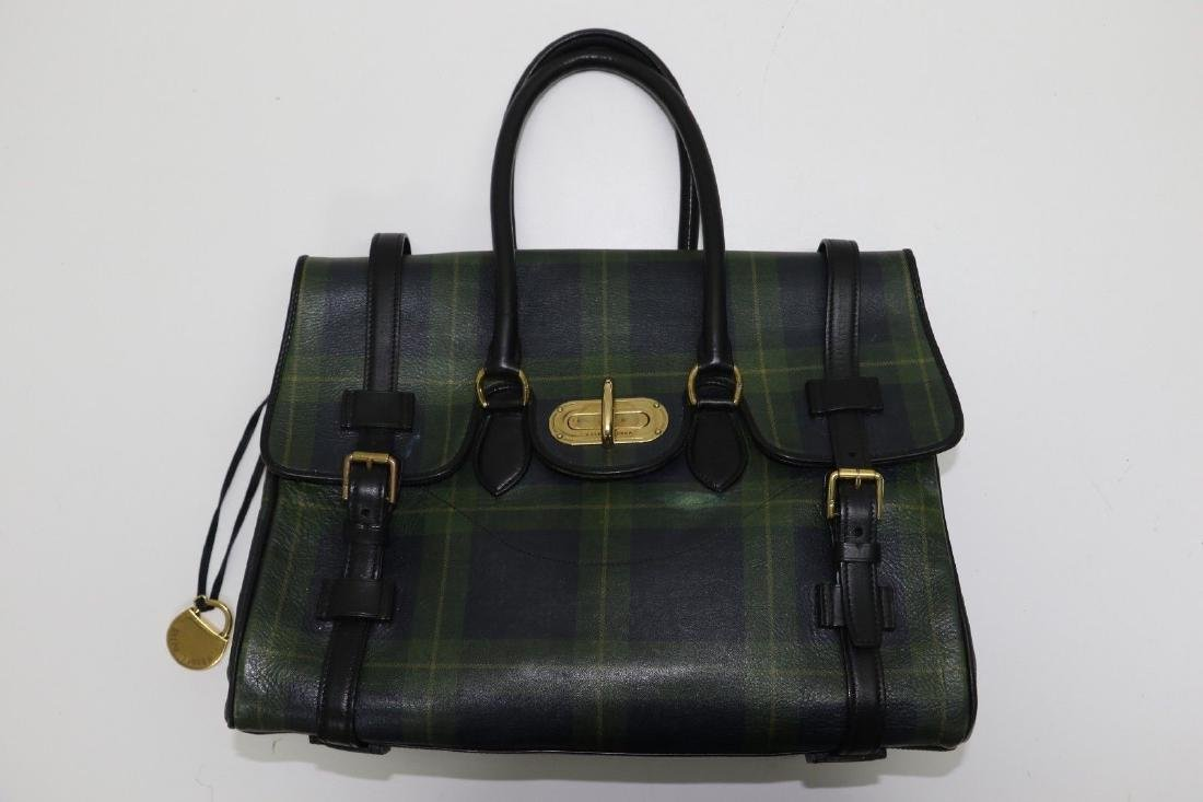 Lauren Tartan Weekender Bag