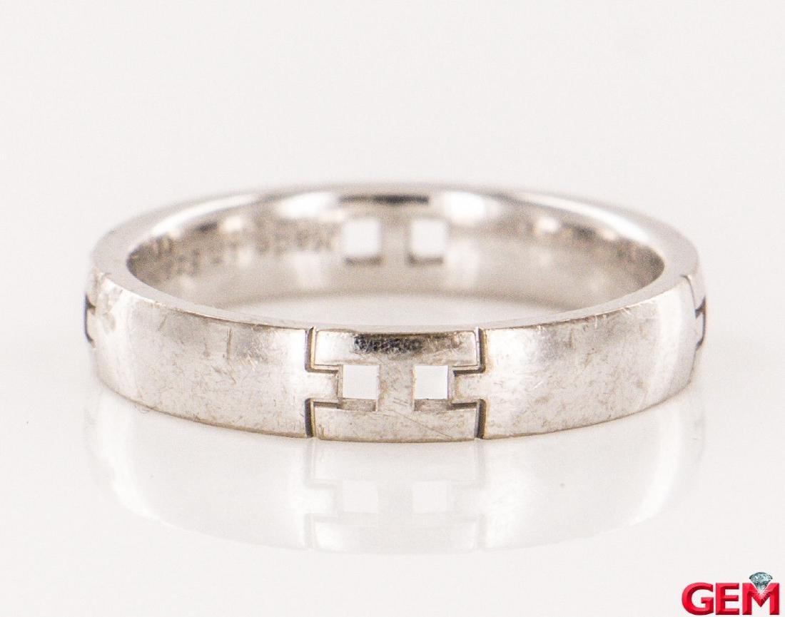 Hermes 18k Diamond  Ring Size: EU 51 US 5.75