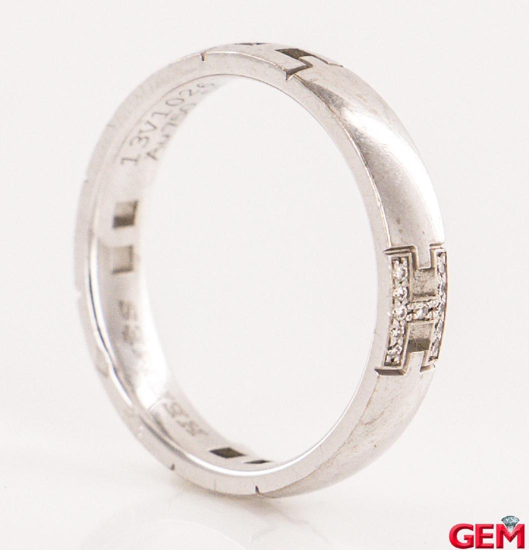 Hermes 18k Diamond  Ring Size: EU 51 US 5.75 - 3