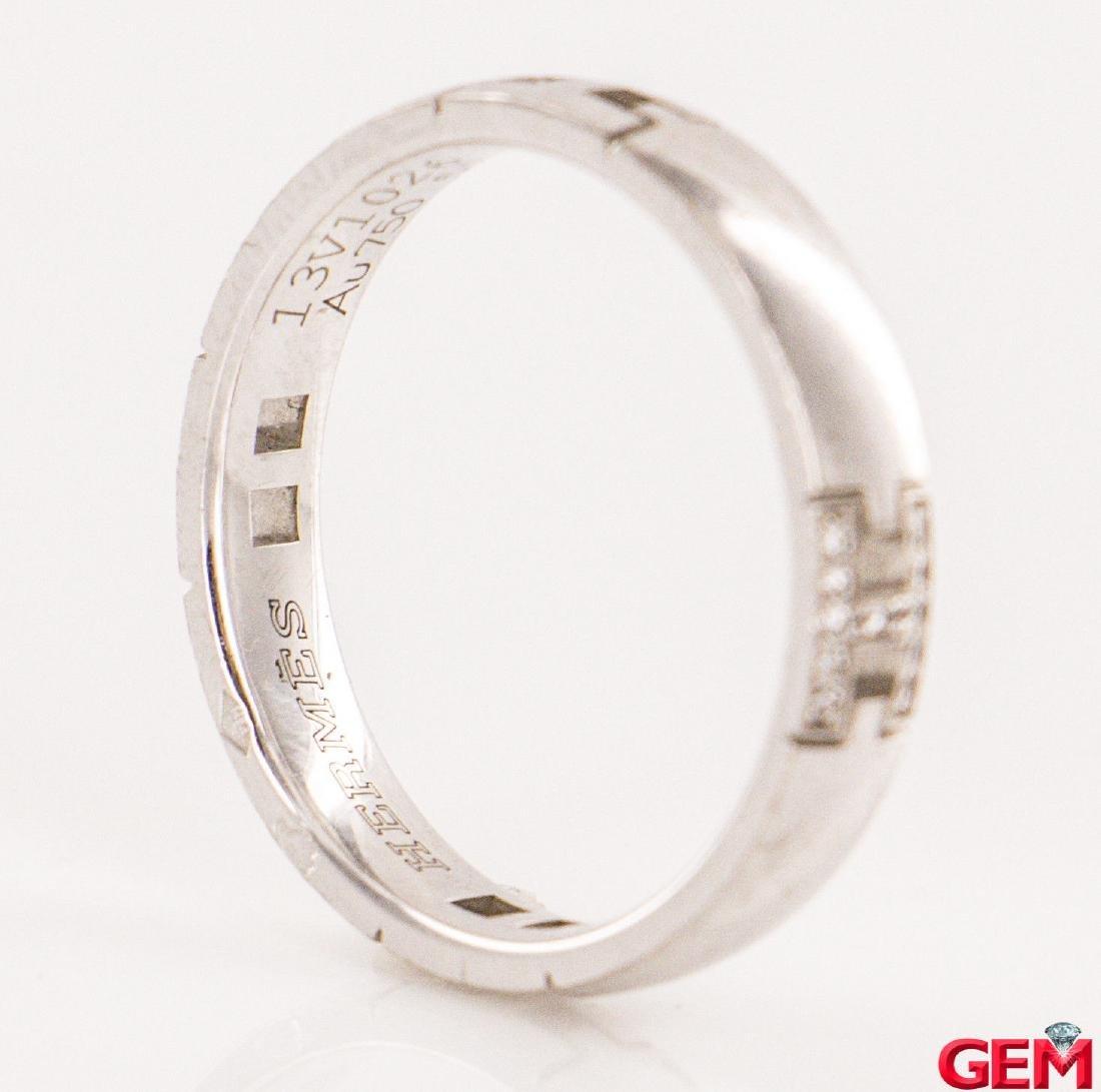 Hermes 18k Diamond  Ring Size: EU 51 US 5.75 - 4