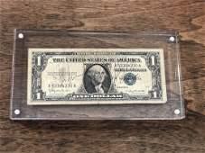 JFK  Marilyn Monroe Signed Dollar Bill