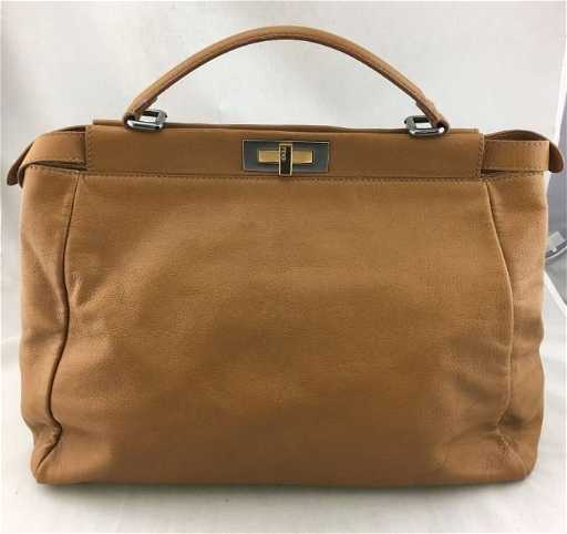 e8704420e1 Fendi Vintage Leather Bag with Shoulder Strap