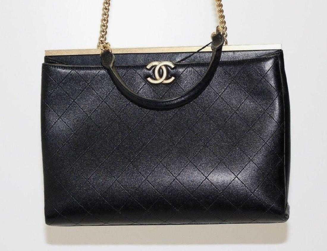 32d3e5d7d95032 Chanel Coco Lg Lambskin Shopping Bag