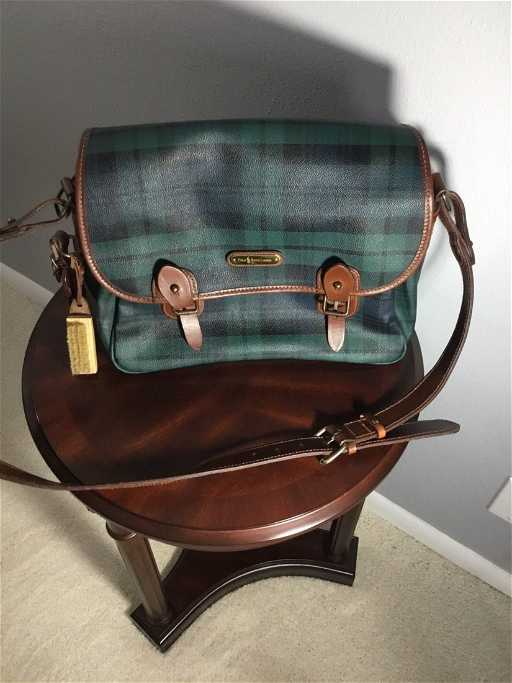 501972a1bfd8 Vintage Polo Ralph Lauren Messenger Bag
