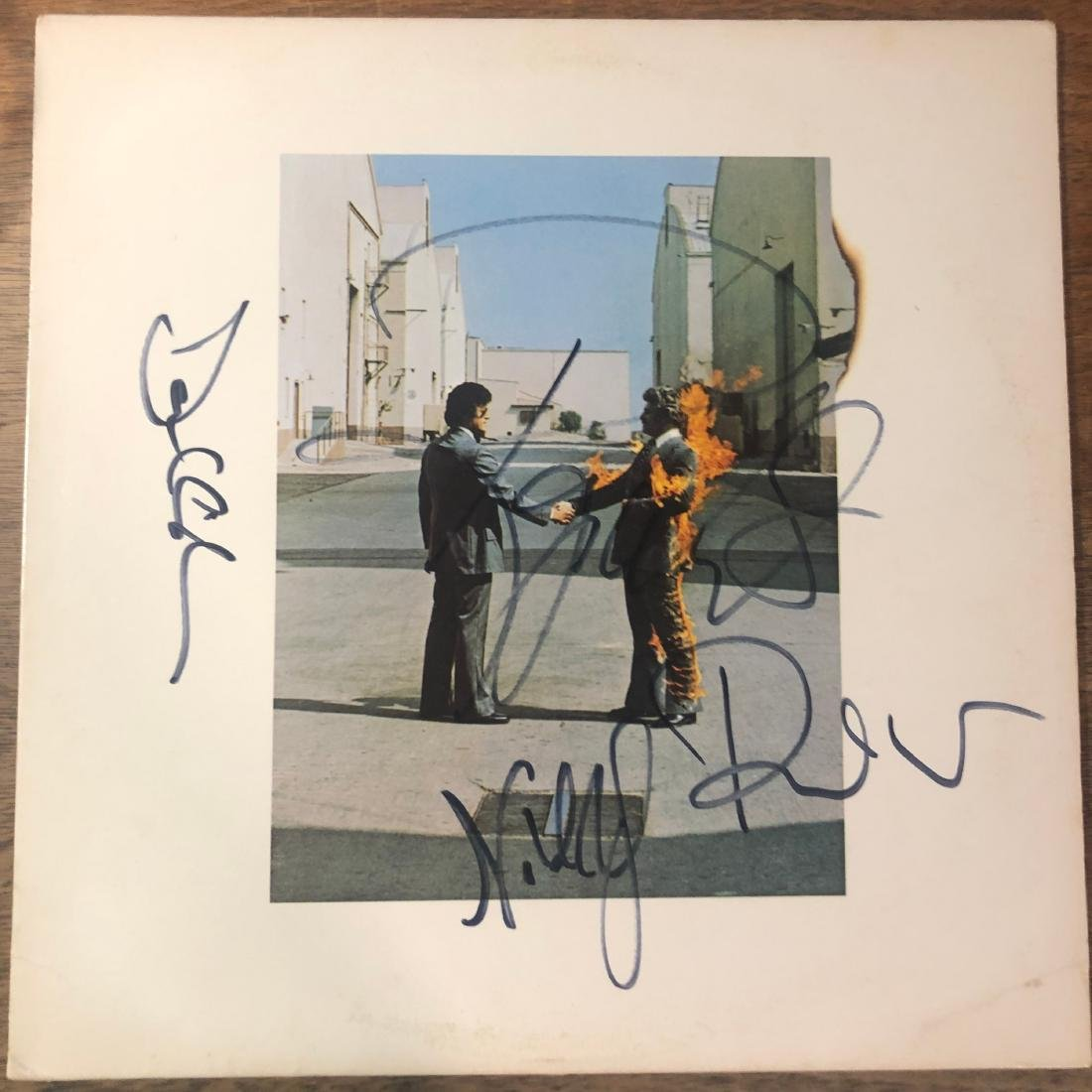 Signed Pink Floyd Wish You Were Here Album - Dec 22, 2018