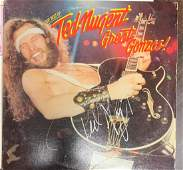 Signed Ted Nugent Great Gonzo Album