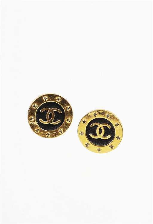 b607815112c7 Vintage Chanel Earrings. placeholder
