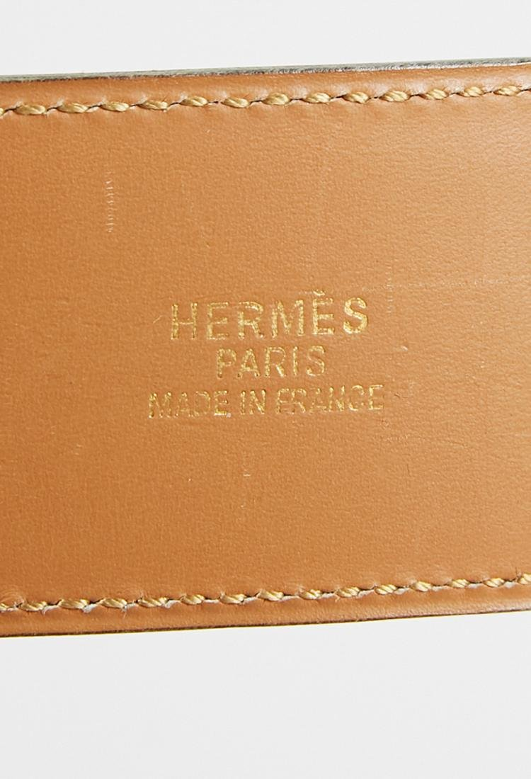 Hermes leather belt (70) - 3