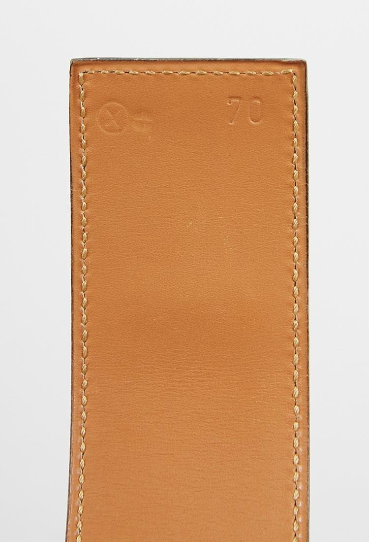 Hermes leather belt (70) - 4
