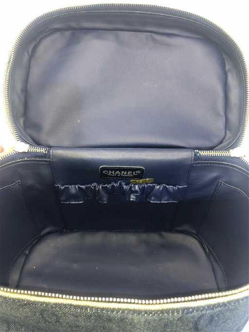 aae6eaf0373e Chanel denim camera bag. placeholder. See Sold Price