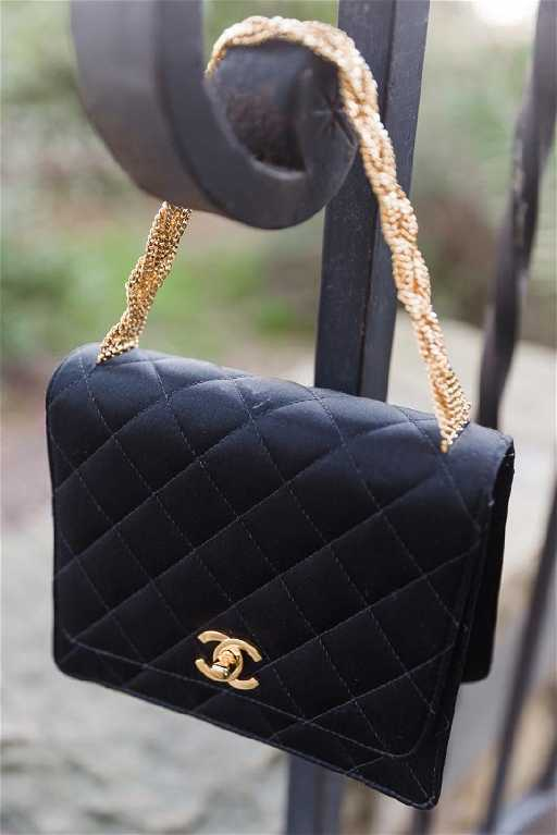 ac42936a6e191d Chanel evening bag. placeholder. See Sold Price