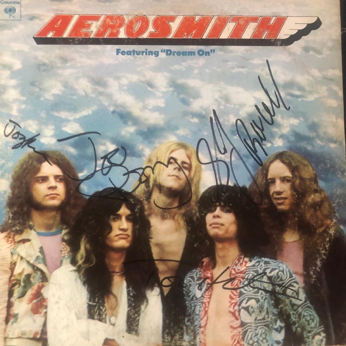 aerosmith album covers in order