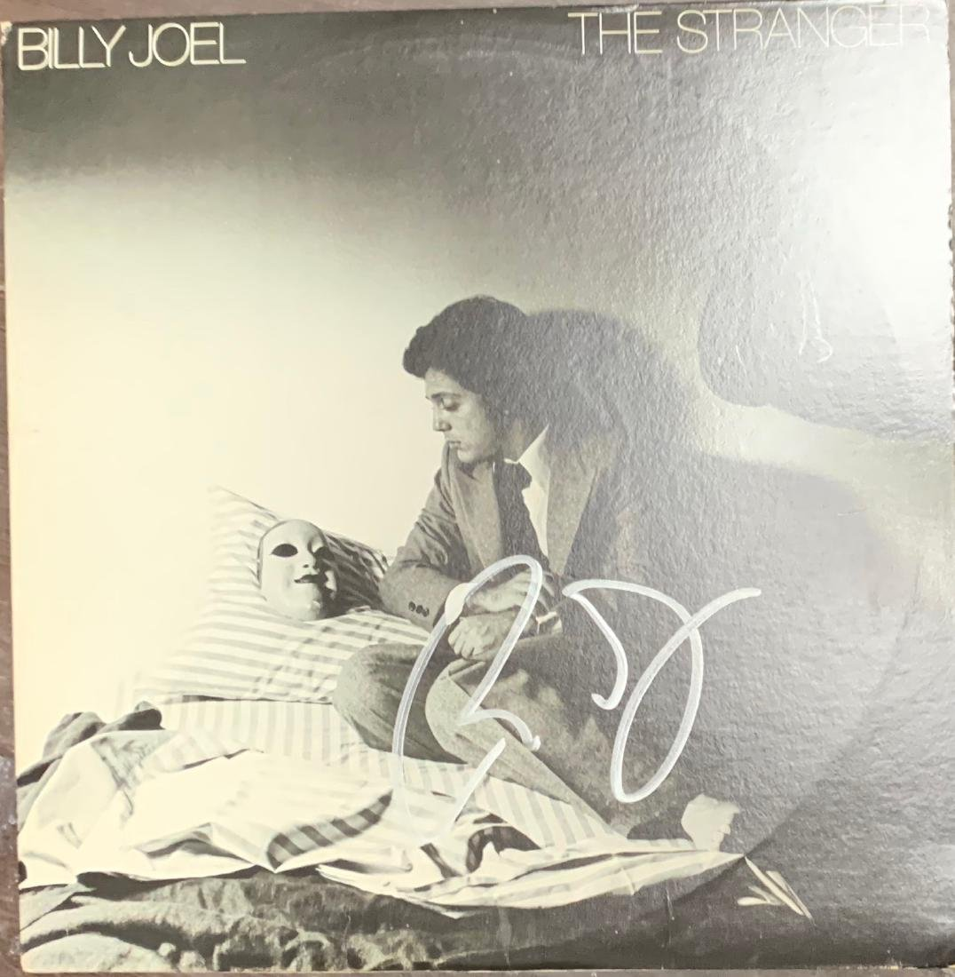 Signed Billy Joel The Stranger Albumn