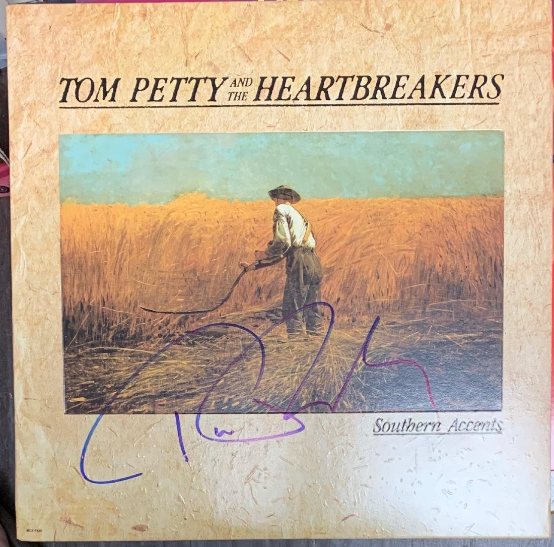 Signed Tom Petty Southern Accents Album