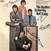 Signed Beatles Yesterday and Today Album