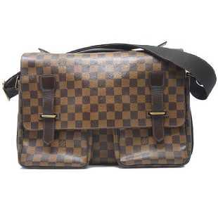 ce89d31bee6875 Genuine Louis Vuitton Damier Ebene Cabas Rivington
