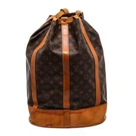 Louis Vuitton Monogram Canvas Leather Randonne Backpack