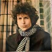 Signed Bob Dylan Blonde On Blonde Album