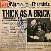 Signed Jethro Tull Thick As A Brick Album