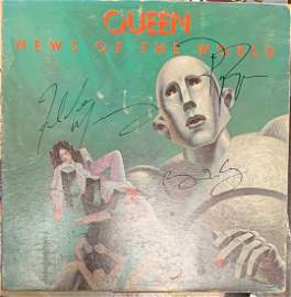 Signed News of the World Album