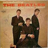 Signed Beatles Introducing: The Beatles Album