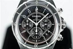Chanel Automatic Chronograph Ceramic Watch