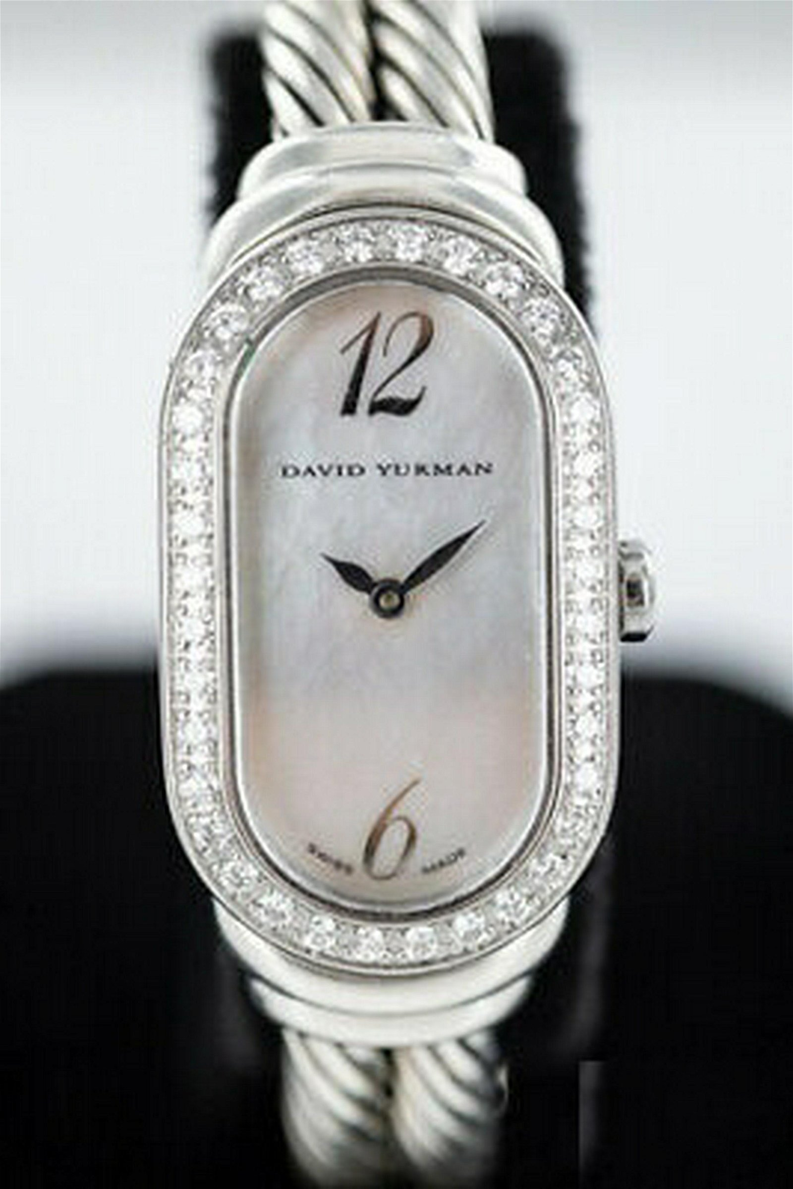 David Yurman Diamond Mother of Pearl Watch