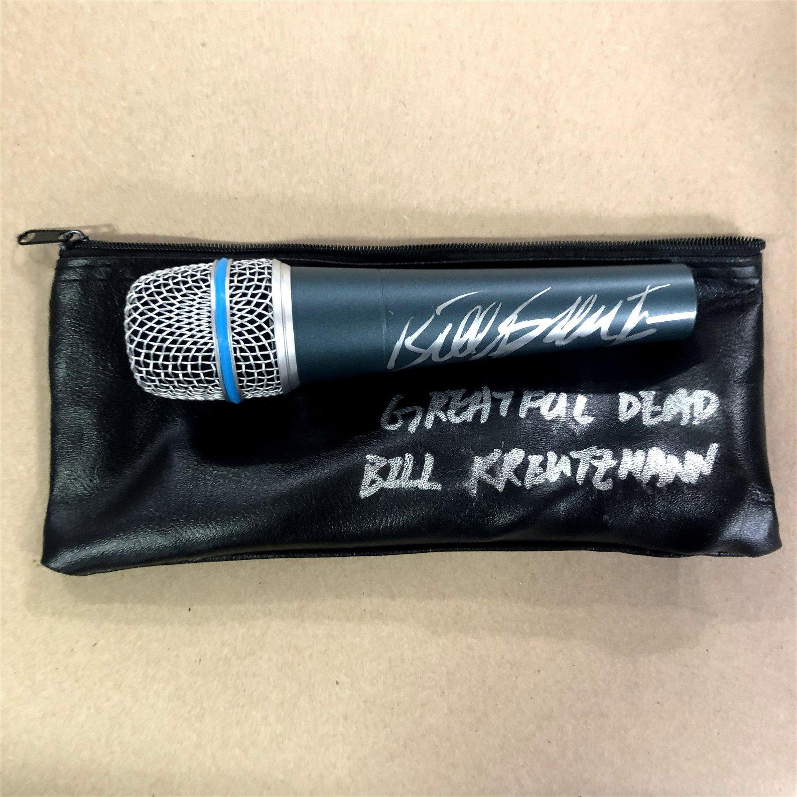 Bill Kreutzmann, Grateful Dead , Signed Microphone